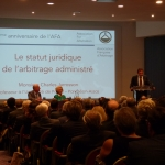 2015 AFA Conference - The Legal Status of Administered Arbitration by Charles Jarrosson